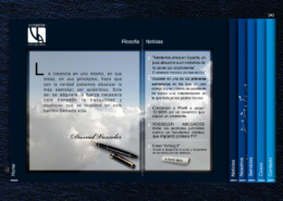 Development of corporate website VOSSELER ABOGADOS