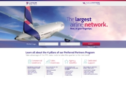 Online application for airlines