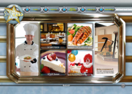 "Development of corporate website of the catering company ""STAR FOOD"""