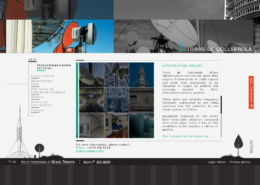 Development of corporate website TORRE DE COLLSEROLA