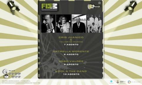 Desarrollo de la página web de Festival de Música Menorca 2008 - FIMM