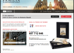 Development of the Online Store LIBRO DE LA SAGRADA FAMILIA