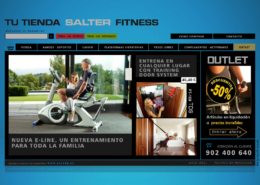 Development of the Online Store SALTER FITNESS